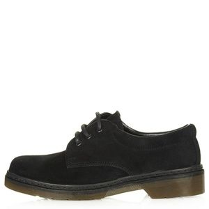 Topshop KIND Suede Lace Up Shoes